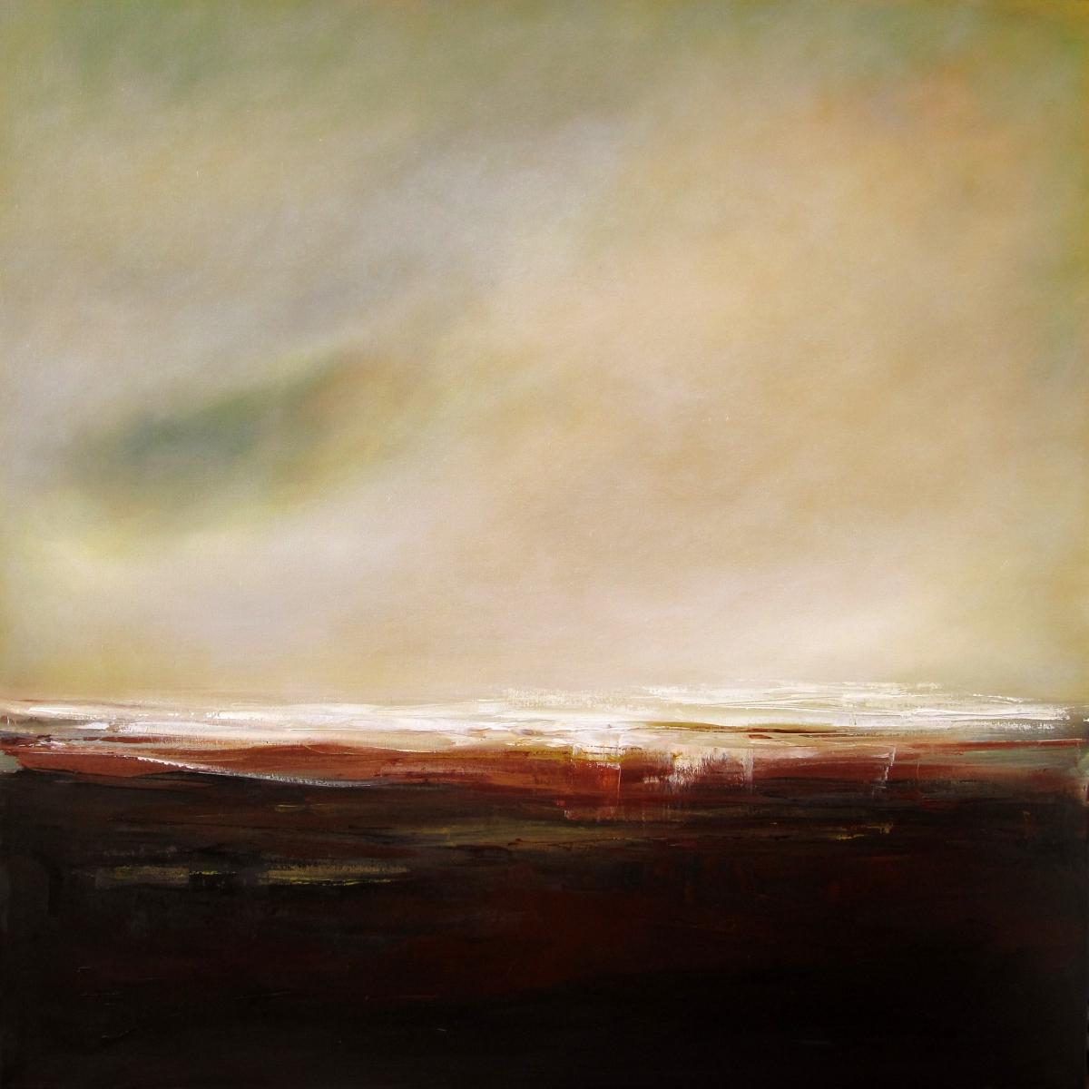 El Peso De La Luz, Estudio #3 (The Weight of Light, Study#3),oil painting on canvas by Marta Fuster Barutell