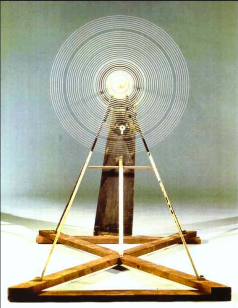 Duchamp, Rotary Galss Plates (Precision Optics) 1920 (in motion)