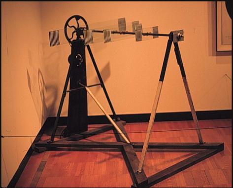 Duchamp, Rotary Glass Plate (Precision Optics) 1920 (stopped motion)