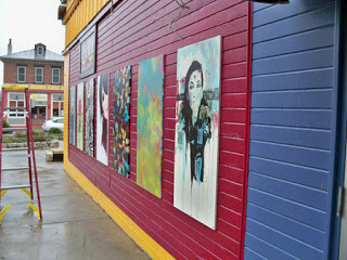 large version of Painting by artist Corrine Bayrak displayed in Street Art project