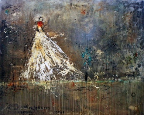 Dare to Dream, Paula Jones oil painting