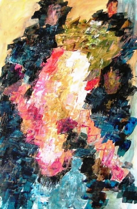 Carried by friends, Gabriella Cleuren, 2009,