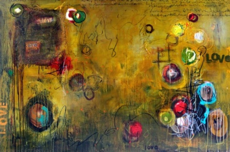 Abstract Love Notes, Paula Jones
