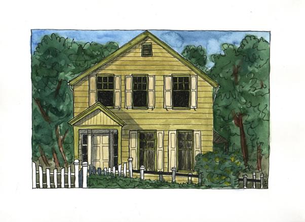 Six Mile House, Lauren Curtis