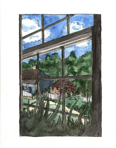 Window View, Lauren Curtis
