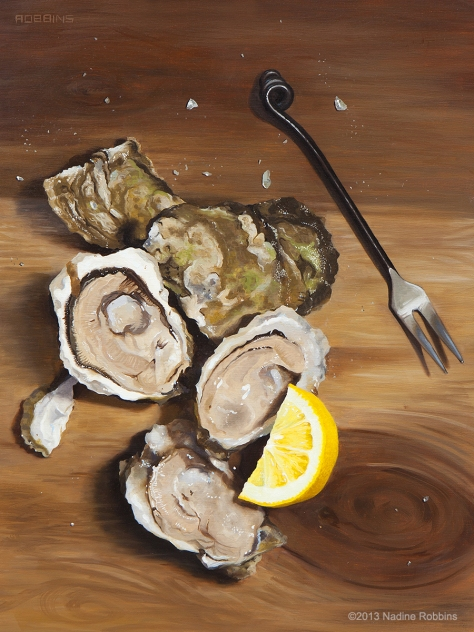 Naked Oysters, Nadine Robbins