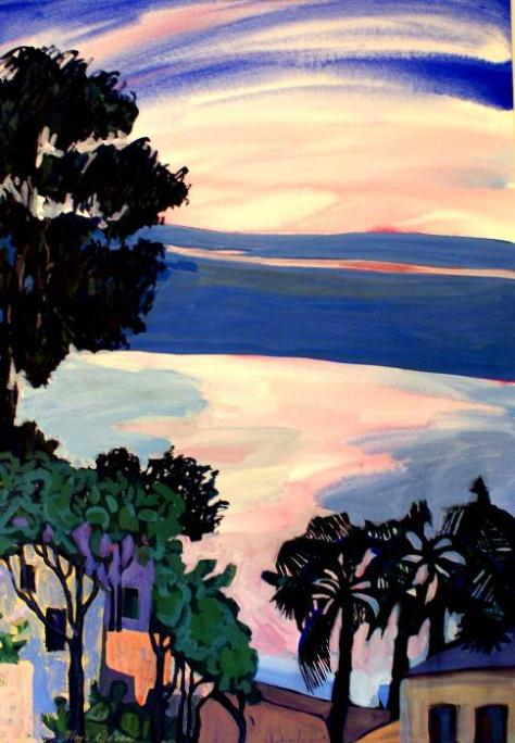 Pink Horizon, Maya Green