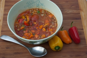 Mediterranean Lentils Emails recipes made by Marie K.