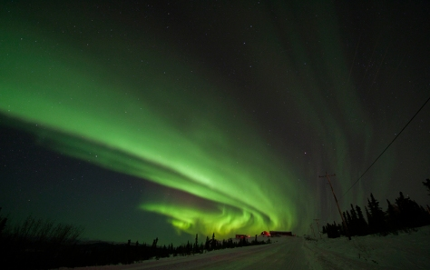 Northern Lights 1, photograph by Eileen Counihan