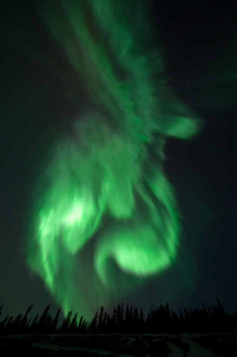 Northern Lights 6, photograph by Eileen Counihan