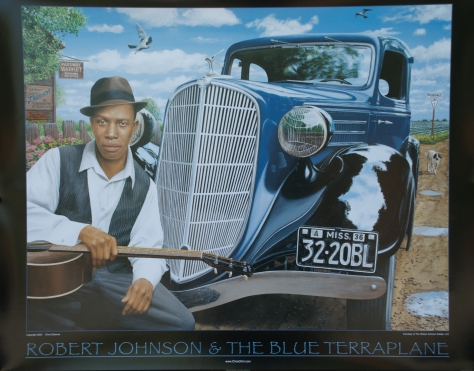 Chris Osborne's Robert Johnson and the Blue Terraplane limited edition poster in our Amazon store (click image)