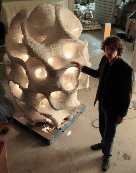 Large 3D Printed Sculpture, J F Rygo