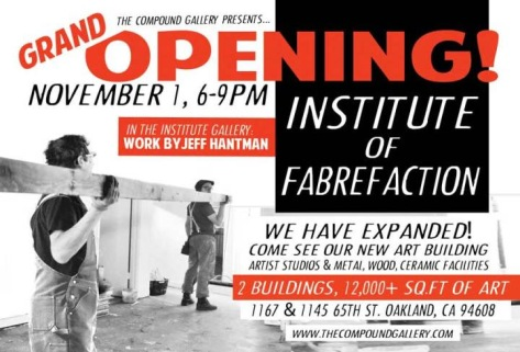 Grand Opening of the Institute of Fabrefaction Art Building