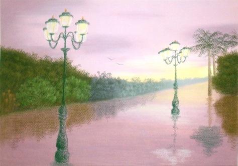 After the rain(pastel on pastel paper) Dimension: 3296 x 2315 Esther Lau $120