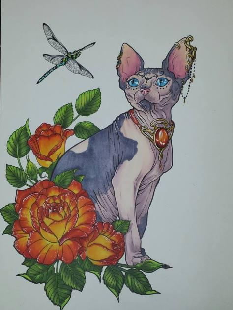 blogpetportraithairlesscat