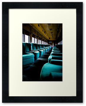 Sitting Blue, Hena Tayab Photographic Fine Art Print in Limited Edition of 50, framed and matted
