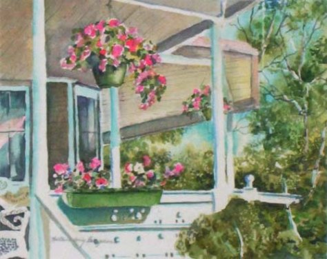 blogKathleenBerryBergeronThe Porch in Summer Time