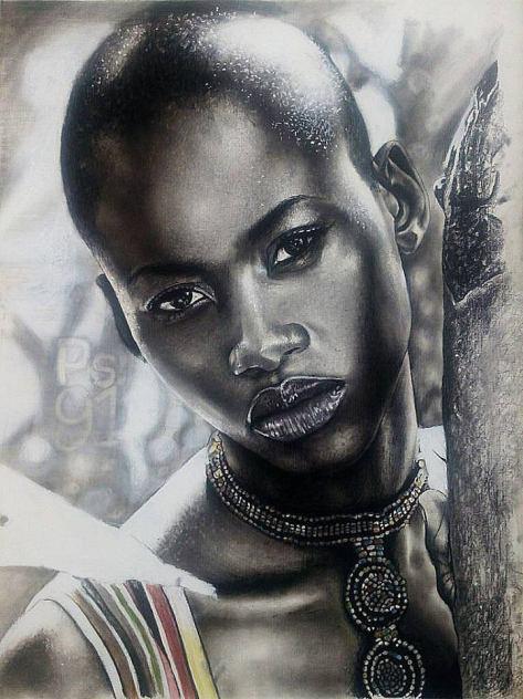 portrait, Kolapo Obadiah Olorunyemi, Nigeria