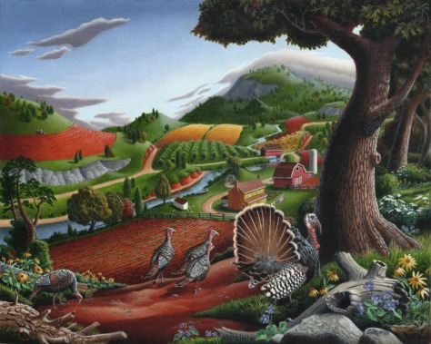 Turkeys In The Hills, Walt Curlee