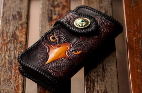 Eagle wallet available from Its Tattoo Time