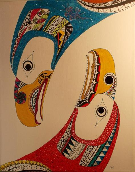 Eagle Dance, artist Russ DeVerniero