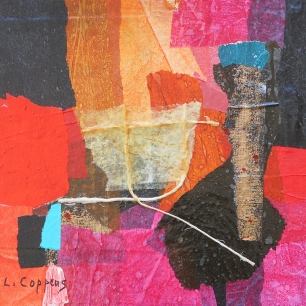 Collage-red, Linda Coppens