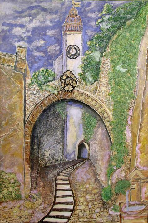 Entry into Old Town, Irene Dahl