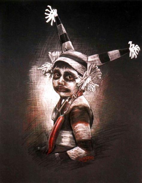 Pueblo Clown, Loretta Jenkins