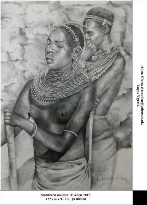 Sumbaru women, Clara Aden
