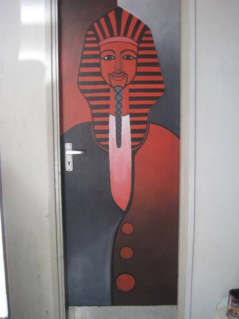 David Thuku commissioned door designs