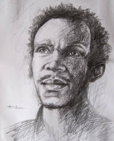 self-portrait, David Thuku