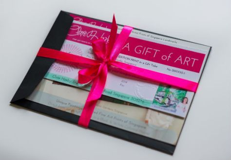 Clare Haxby gift card