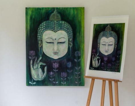 Clarehaxbygreenbuddha
