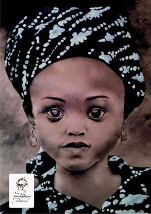 Innocent African Beauty by Gideon Fasola