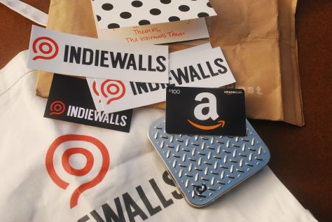 I Won Swag + $100 Amazon Gift Card For Artist Referrals to IndieWalls