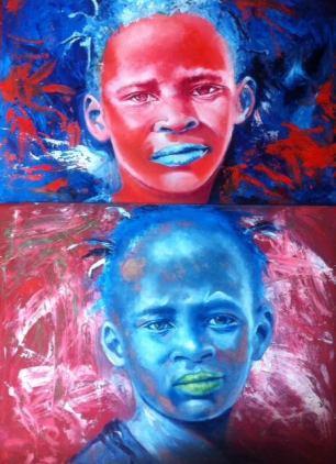 Lioda Conrad, Duality of Color