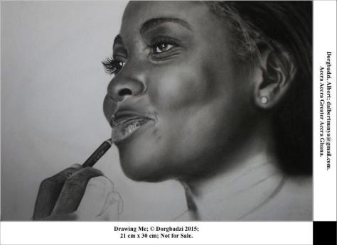 Drawing Me, Albert Dorgbadzia