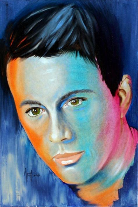 portrait painting by Anton Kilian