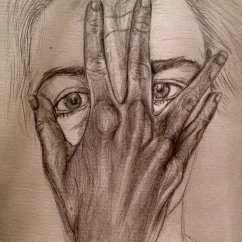 hand p