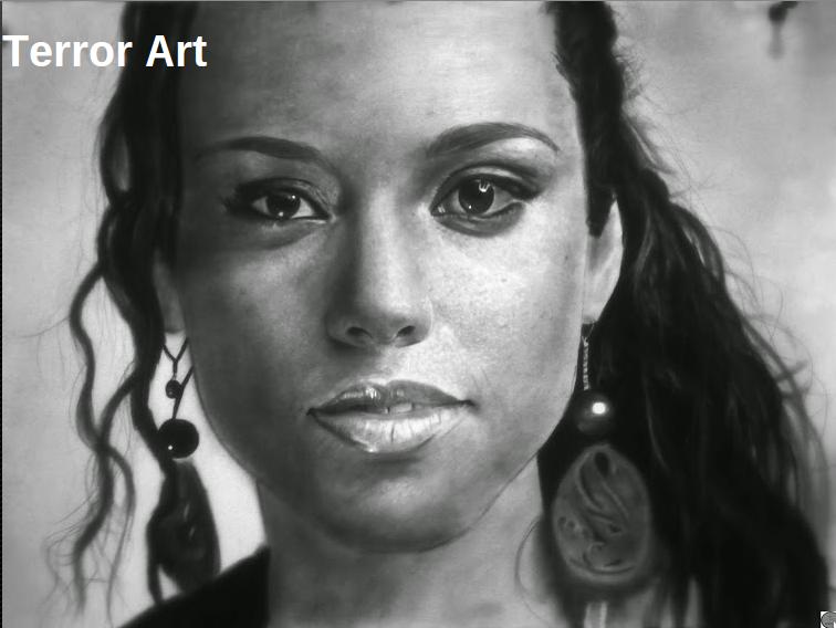 portrait drawing by Jeffery Appiatu