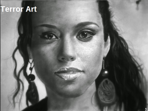 portrait drawing by Jeffery Appiatu
