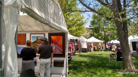 Art on the Green art booths