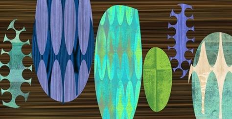 Rex Ray collage art