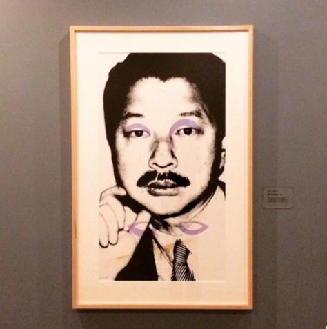 "Andy Warhol, ""Michael Chow,"" 1980"