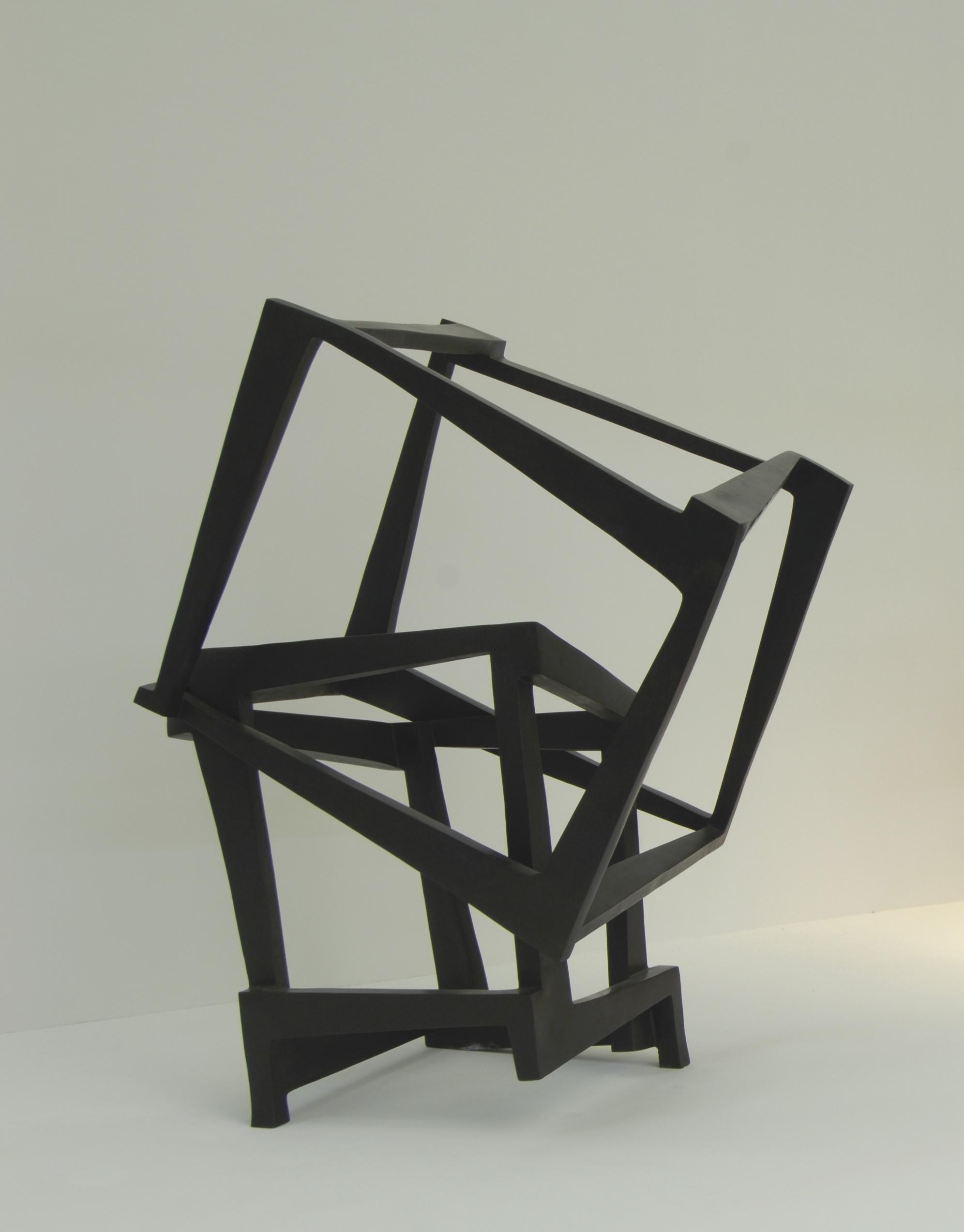 Chaos San Sebastian, bronze sculpture, Jedd Novatt