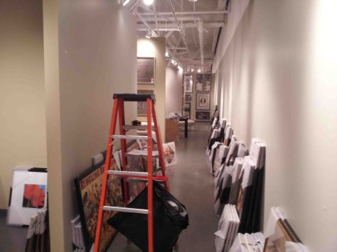 In Las Vegas Market THe ARt INSTALLER NETWORK installed about 500 pieces in a week