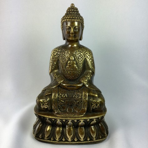 Antique Bronze Meditation Buddha for home or business