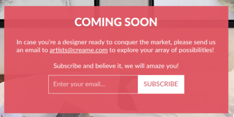 Artists + Designers Submit To New Online Sales Venue