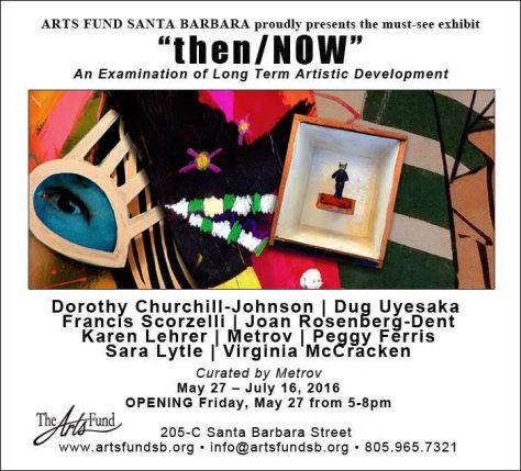 """then / NOW"" Art  Exhibition"