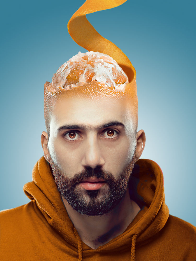 Orange Juice, Anyone? by Amer Dab